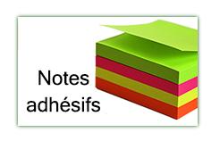 Notes adhésifs